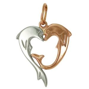 Красивая картинка подвески дельфины